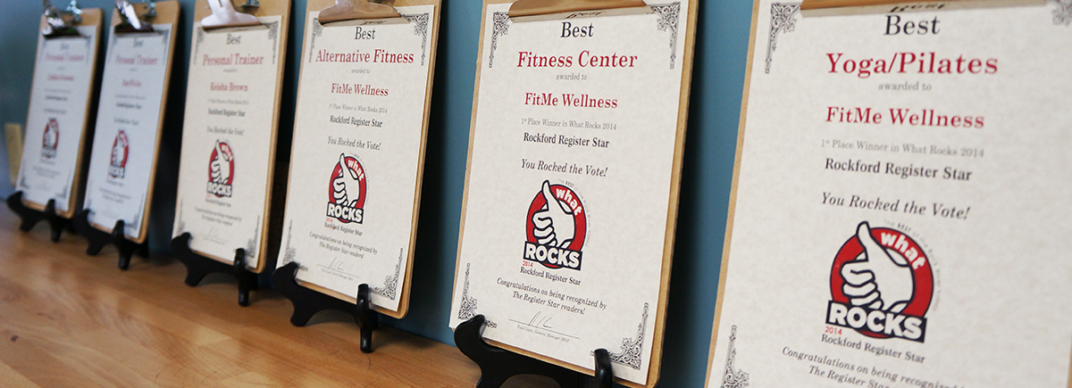 FitMe Wellness, Voted Rockford's Best Gym